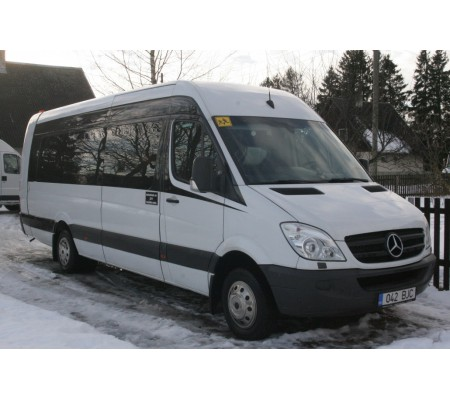 Väikebussi rent Mercedes Sprinter